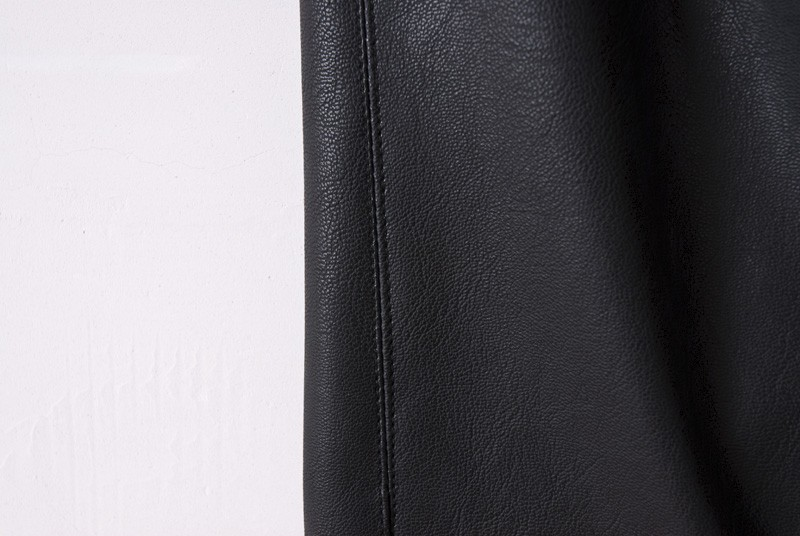 Black Side Zipper PU Leather Skinny Pants - Sheinside.com