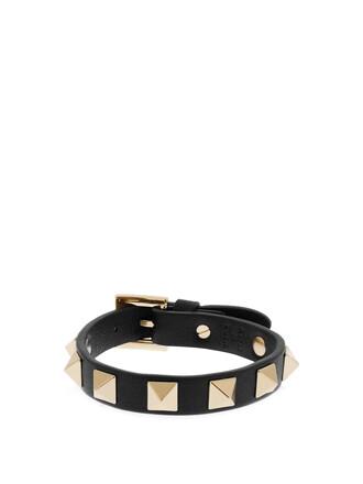 leather black jewels