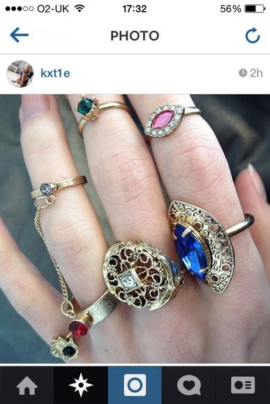 cute jeans denim jacket grunge jewels cute dress ring gemstone jewelry denim shorts instagram pale grunge kawaii