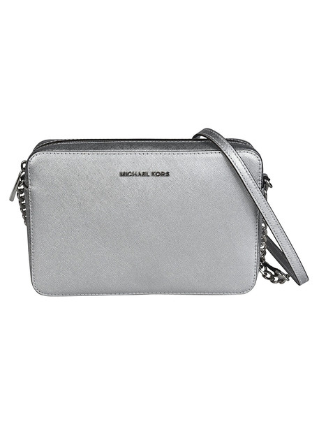 Michael Kors Travel Large Shoulder Bag in silver