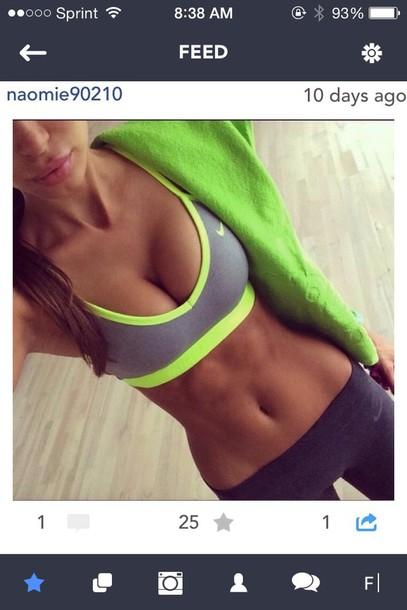 tights sports bra sportswear top