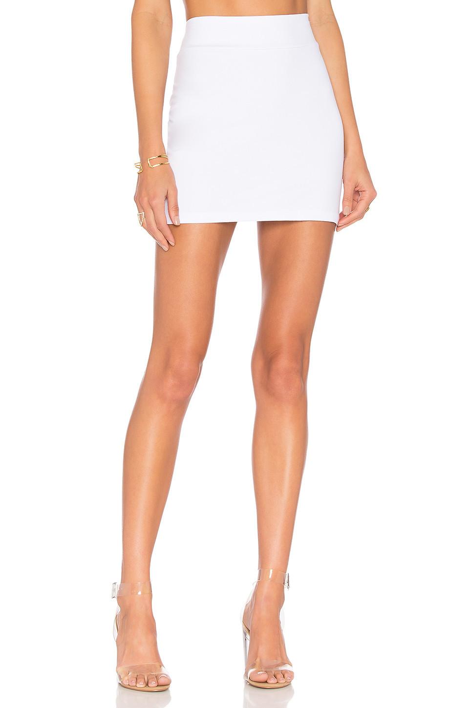 Susana Monaco Slim Skirt in white