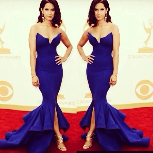 dress prom dress 2014 blue dress