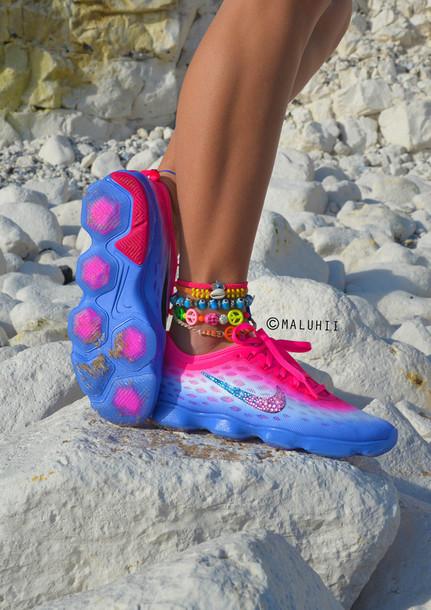 maluhii customised nikes custom nike trainers