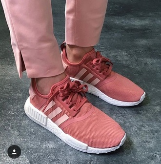 shoes pink adidas originals nmd adidas nmd sneakers love