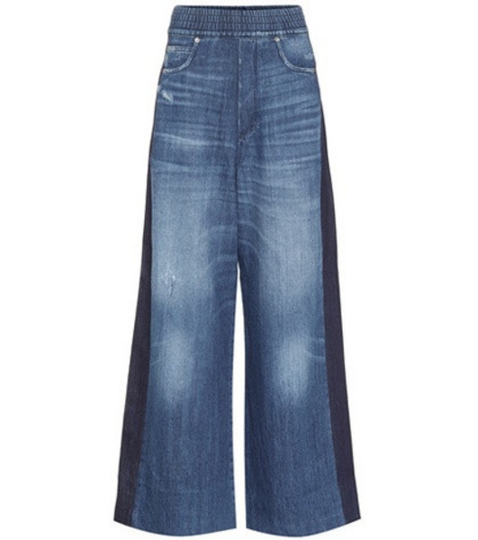 Golden Goose Deluxe Brand Sophie high-rise flared jeans in blue
