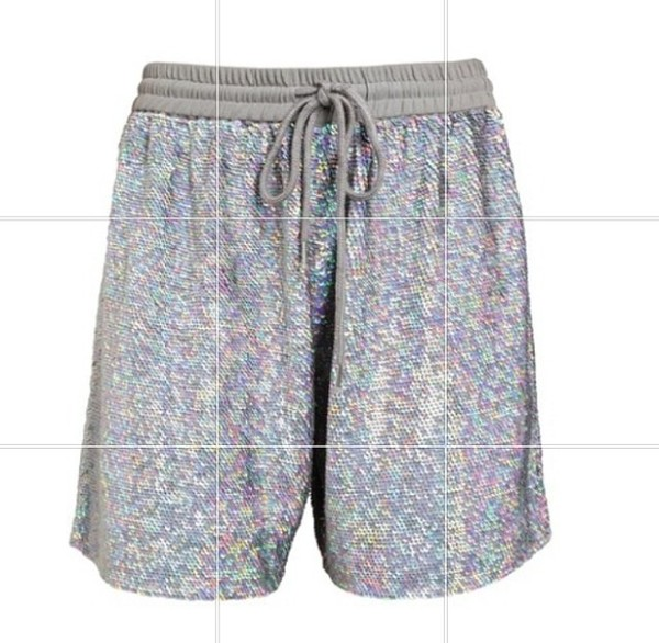 shorts Sequin shorts