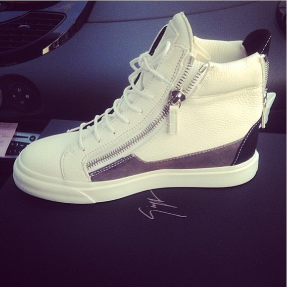 hip-hop clothes shoes high top sneaker sneakers high heels hippie hipster white vintage vintage boots guiseppe zanotti