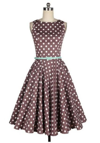 50s style fashion dress vintage vintage dress 50s dress retro 50s style fashion polka dots polka dots dress cute cute dress retro dress