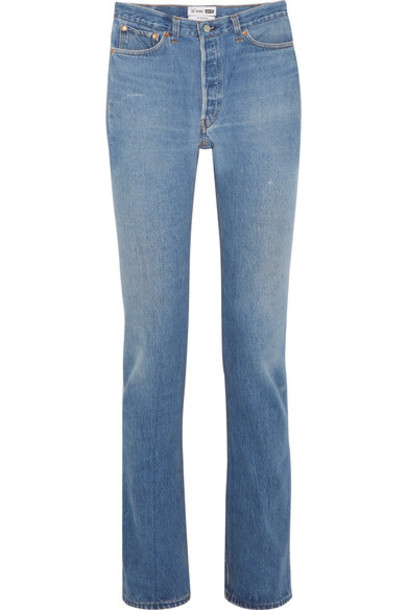 Re/Done jeans denim high