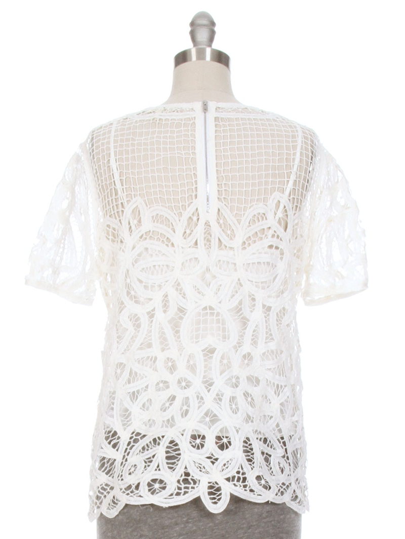 Nancy Battenburg Lace Top