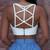 Cutout Cresh Crop Top – Outfit Made
