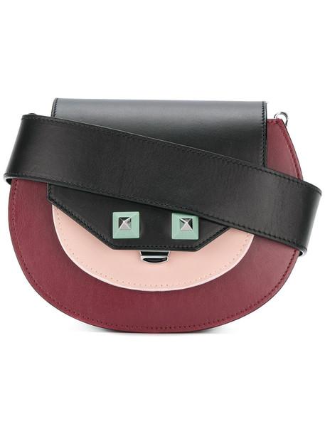 Salar women bag shoulder bag leather black