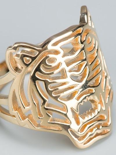 Kenzo Tiger Ring Farfetch Com