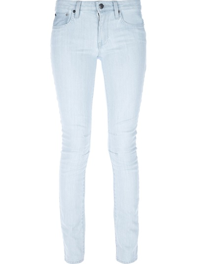 Helmut Lang 'artic' Wash Skinny Jean - Please Don't Tell - Farfetch.com