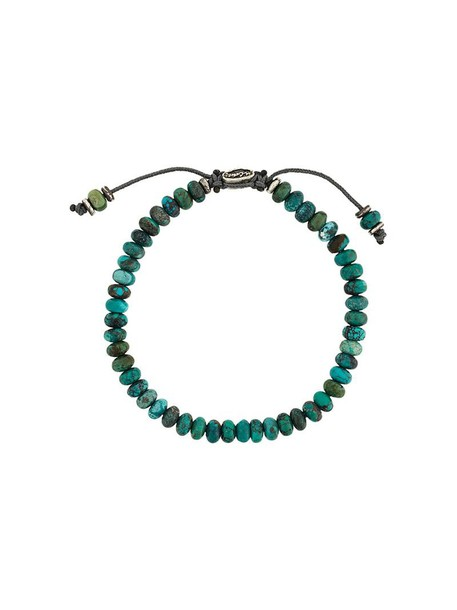 M. Cohen beaded bracelet women beaded green jewels