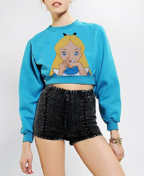 alice disney sweater alice and wonderland sweater alice and wonderland sweatshirt alice and wonderland shirt alice and wonderland oversized sweater sexy sweater disney clothes disney sweater disney princess disney punk