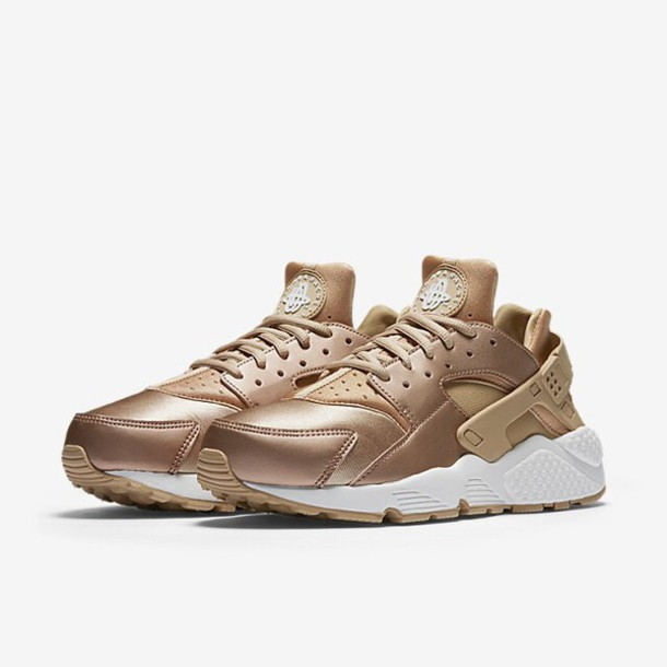 shoes rosegold shoes nike shoes nike hurache rose gold