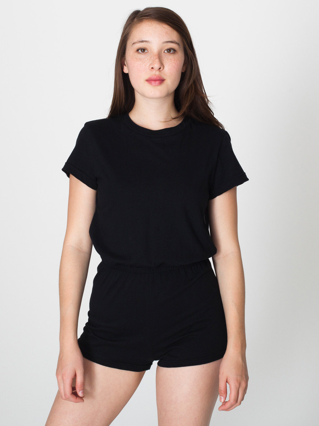 Jersey t shirt romper american apparel for American apparel custom t shirts