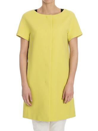 coat cotton yellow