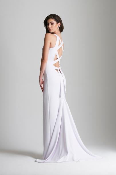 dress, beach wedding, white dress, evevardar, eelgantandsimple ...