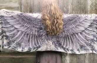 scarf angel angel wings wings angel wings scarf kimono angel kimono
