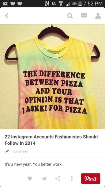 shirt pizza shirt sarcasm