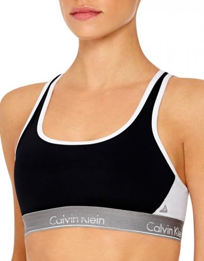 21d63f6788 Calvin Klein Flex Motion Racerback Sports Bra QF1083 - Free ...