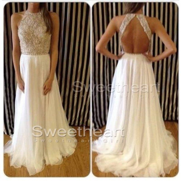 Charming chiffon sequined long prom dresses,evening dresses