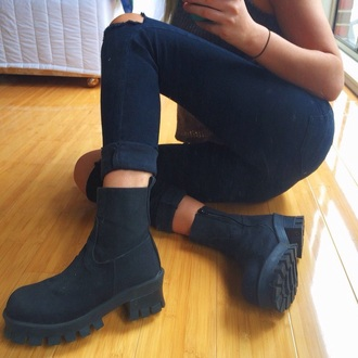 shoes black boots black boots little black boots