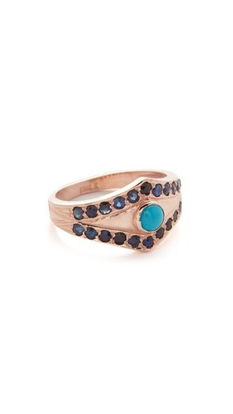 ring turquoise jewels