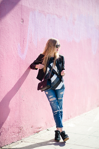 eat sleep wear jacket t-shirt jeans shoes bag