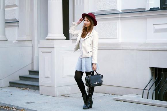 jacket bag blogger a piece of anna
