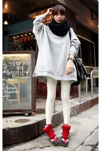 top sweater jumper cute kpop adorable style pants shoes