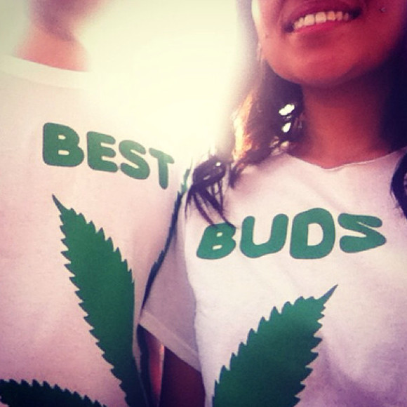 t shirt skirt besties best buds weed shirts bestfriends