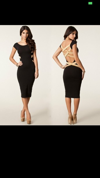 dress black nude silver gold stunning club wear dress sexy hot fab