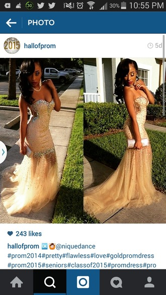 dress prom prom dress mermaid fitted sheer bottom strapless