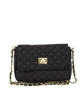 ASOS | ASOS Quilted Lock Cross Body Bag at ASOS
