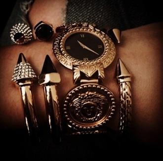 jewels gold bracelets watch jewelry jewelry bracelets spikes watches for women