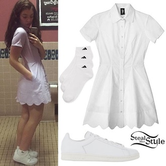 romper white adidas sneakers all white everything socks