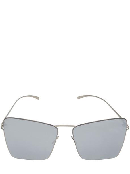 MYKITA Mmesse014 Maison Margiela Sunglasses in silver