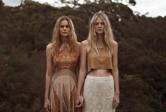 dress bohemian sisters skirt
