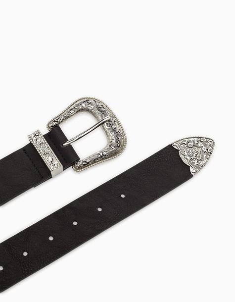 Stradivarius belt black