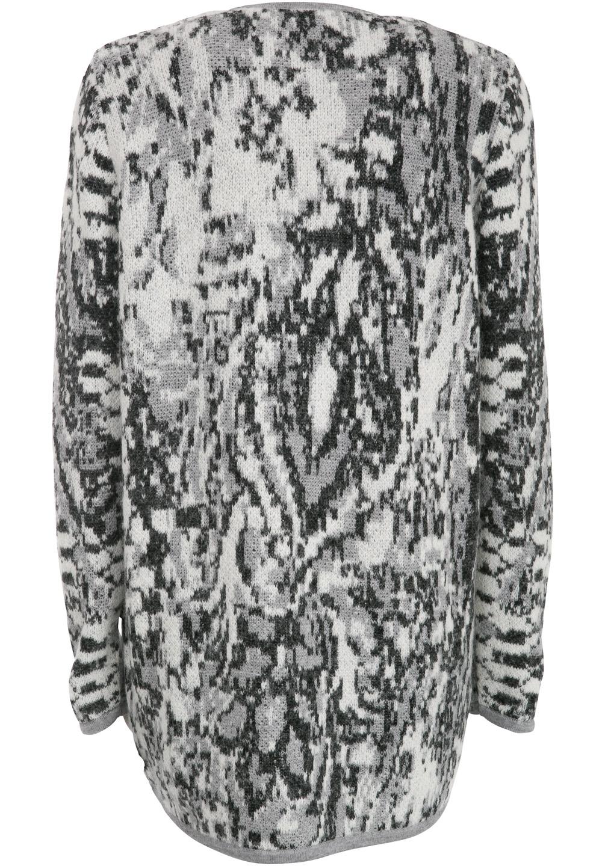Long Cardigan Maral, Bohemian Light Grey - Pullover / Cardigans - Kollektion - Shop — lala Berlin