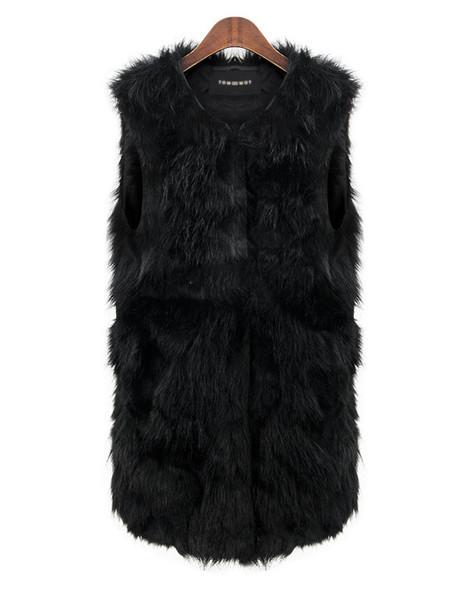 Poofa fur vest
