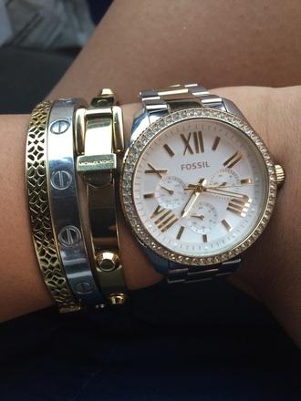 jewels fossil michael kors cartier jewelry bracelets stacked bracelets