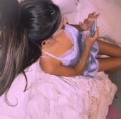 jumpsuit,nightwear,gabriella demartino,pajamas,niki and gabi,lavender,gabi demartino,camisole,underwear,silk,purple,romper,tank top,lace dress,lace top,lace bralette,lace lingerie,soft silk