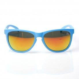 'chameleon' wayfarer sunglasses with revo lens   80's   80's Purple