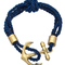 Blu bijoux navy nautical wrap bracelet - max & chloe