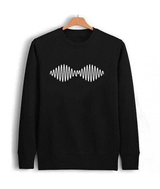 sweater arctic monkeys it girl shop grunge t-shirt black sweater rock winter outfits winter sweater winter swag fall outfits tumblr sweater hipster all black everything swag band t-shirt